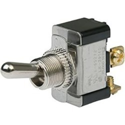 BEP SPST Heavy-Duty Toggle Switch, On/Off