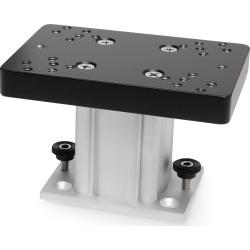 Aluminum Fixed Base Downrigger Pedestal, 4