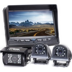 Rear View Safety Backup Camera System with Side Cameras found on Bargain Bro India from Gander Mountain for $479.99