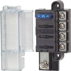 Blue Sea ST Blade Compact 4-Circuit Fuse Block