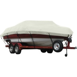 Exact Fit Covermate Sunbrella Boat Cover for Stratos 385 Xf 385 Xf W/Port Minnkota Troll Mtr Strb Console O/B. Silver found on Bargain Bro Philippines from Gander Mountain for $528.99