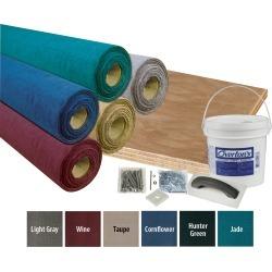 Overton's Sundance Carpet and Deck Kit, 8'W x 30'L