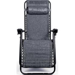 Zero Gravity Chair, Regular, Black Swirl