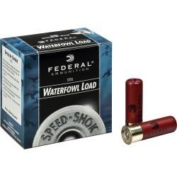 "Federal Premium Speed-Shok Waterfowl Ammo, 12 Gauge, 3-1/2"", 1-3/8 oz, #4"