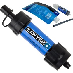 Sawyer MINI Personal Water Filter, Blue found on Bargain Bro India from Gander Mountain for $23.74
