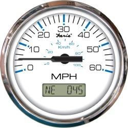 Faria Chesapeake SS GPS Speedometer With LCD, 60 MPH found on Bargain Bro Philippines from Gander Mountain for $189.99