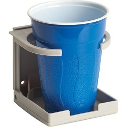 Collapsible Plastic Drink Holder, Grey