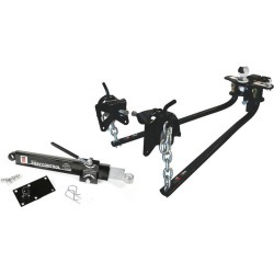 "Weight Distributing Hitch Kit w/ Distribution Hitch, Sway Control, 2-5/16"" Hitch Ball - 800 lbs Tongue Weight"