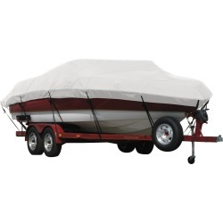 Exact Fit Covermate Sunbrella Boat Cover for Stratos 385 Xf 385 Xf W/Port Minnkota Troll Mtr Strb Console O/B. Natural found on Bargain Bro Philippines from Gander Mountain for $528.99