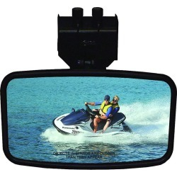 "Safety Rearview Marine 4"" x 8"" Mirror"