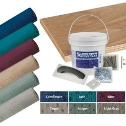 Overton's Blockade Carpet and Deck Kit, 8.5'W x 25'L