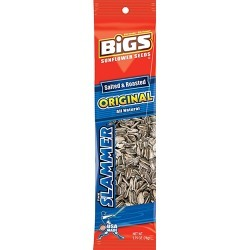 Bigs Original Salted And Roasted Sunflower Seeds, 2.75 oz.