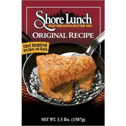 Shore Lunch Original Recipe Fish Breading/Batter Mix, 3.5-lb. Box