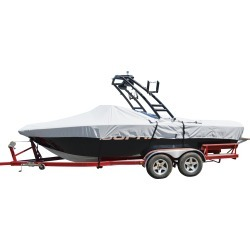 Tower-All Euro V-Hull Outboard Boat Cover - 19'5