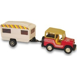 Tran Sporter Jeep and Trailer