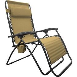 Infinity Big Boy Zero Gravity Chair, Beige