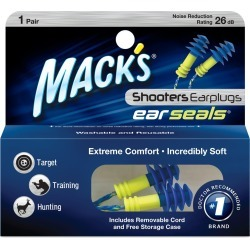 Mack's Shooters Ear Seals Ear Plugs, 1-Pack found on GamingScroll.com from Gander Mountain for $1.87