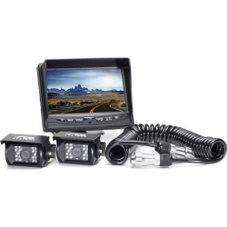 Rear View Camera System - Two Camera Setup with Quick Connect/Disconnect Kit found on Bargain Bro India from Gander Mountain for $467.99