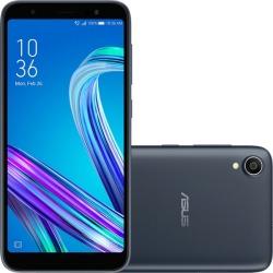 """Smartphone Asus Zenfone Live L1 32gb 2gb Ram Quad Core Tela De 5.5"""" Câmera De 13mp Preto"""