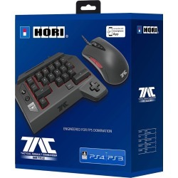 Sony Officially Licensed HORI Playstation 4 Tac Bluetooth Mouse + Keyboard (PS4) found on Bargain Bro UK from G2G Limited - Go 2 Games