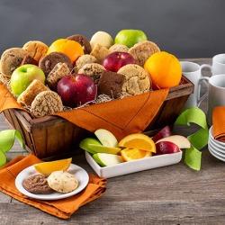 Fruit & Baked Goods Gift Basket