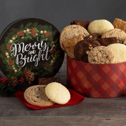 Merry & Bright Baked Goods Gift Box
