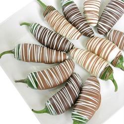 Belgian Chocolate Dipped Jalape?os