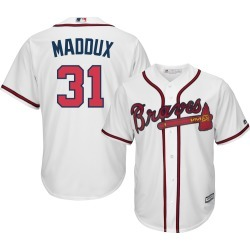 Greg Maddux Jersey - Atlanta Braves Replica Adult Home Jersey