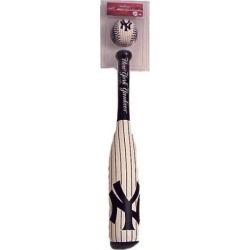 Rawlings NY Yankees White Softee Bat & Ball Set