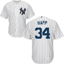 J.A. HAPP Jersey - NY Yankees Replica Adult Home Jersey