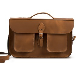 Jude Premium Leather Briefcase in Vintage Tan found on Bargain Bro UK from Gweniss