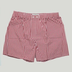 Red Gingham Boxers found on Bargain Bro UK from harvieandhudson.com