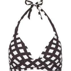 Bella Bikini Top Navy White found on Bargain Bro UK from Hobbs