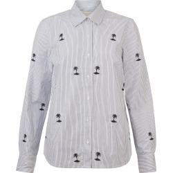 Brogan Shirt White Navy found on Bargain Bro UK from Hobbs