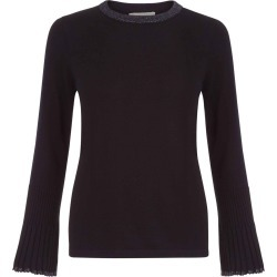 Helen Merino Wool Sweater Black found on Bargain Bro UK from Hobbs