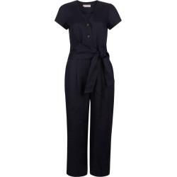 Jayne Linen Jumpsuit Navy found on Bargain Bro UK from Hobbs