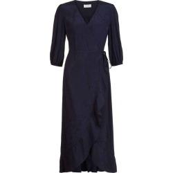 Sara Wrap Dress Midnight found on Bargain Bro UK from Hobbs