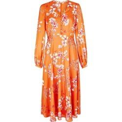 Ferrier Dress Orange found on Bargain Bro UK from Hobbs