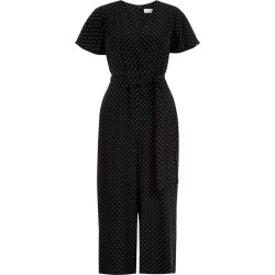 Jemma Jumpsuit Black White found on Bargain Bro UK from Hobbs
