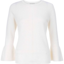 Becky Merino Wool Blend Sweater Ivory found on Bargain Bro UK from Hobbs