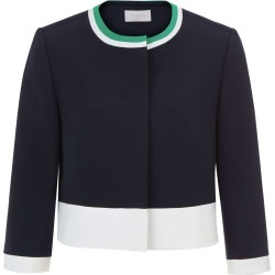 Annabel Jacket Nvy Ivry Green found on Bargain Bro UK from Hobbs
