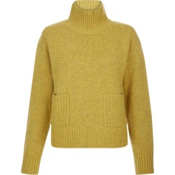 Carla Wool Blend Sweater Ochre Melange found on Bargain Bro UK from Hobbs