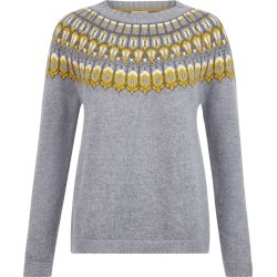 Madeline Sweater Grey Multi found on Bargain Bro UK from Hobbs