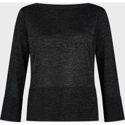 Logan Sparkle Sweater Black Silver found on Bargain Bro UK from Hobbs