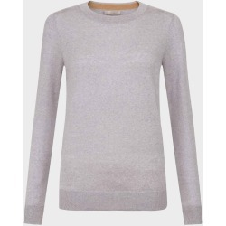 Penny Merino Wool Sweater Grey Marl found on Bargain Bro UK from Hobbs