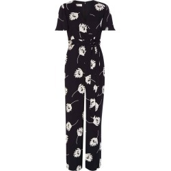 Alexis Jumpsuit Black Ivory found on Bargain Bro UK from Hobbs