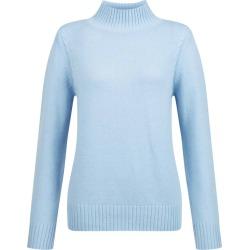 Freda Merino Wool Blend Sweater Pale Blue found on Bargain Bro UK from Hobbs