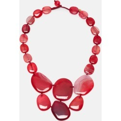 Leoniee Necklace Scarlet Agate found on Bargain Bro UK from Hobbs