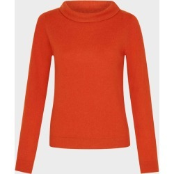 Audrey Wool Cashmere Sweater Rust Orange found on Bargain Bro UK from Hobbs