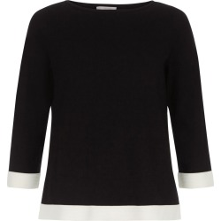 Gracie Sweater Black Ivory found on Bargain Bro UK from Hobbs